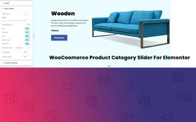 WooCommerce Product Category Slider for Elementor