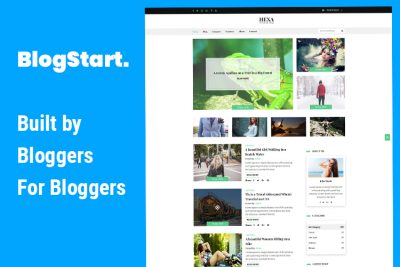 Blog Start WordPress Theme